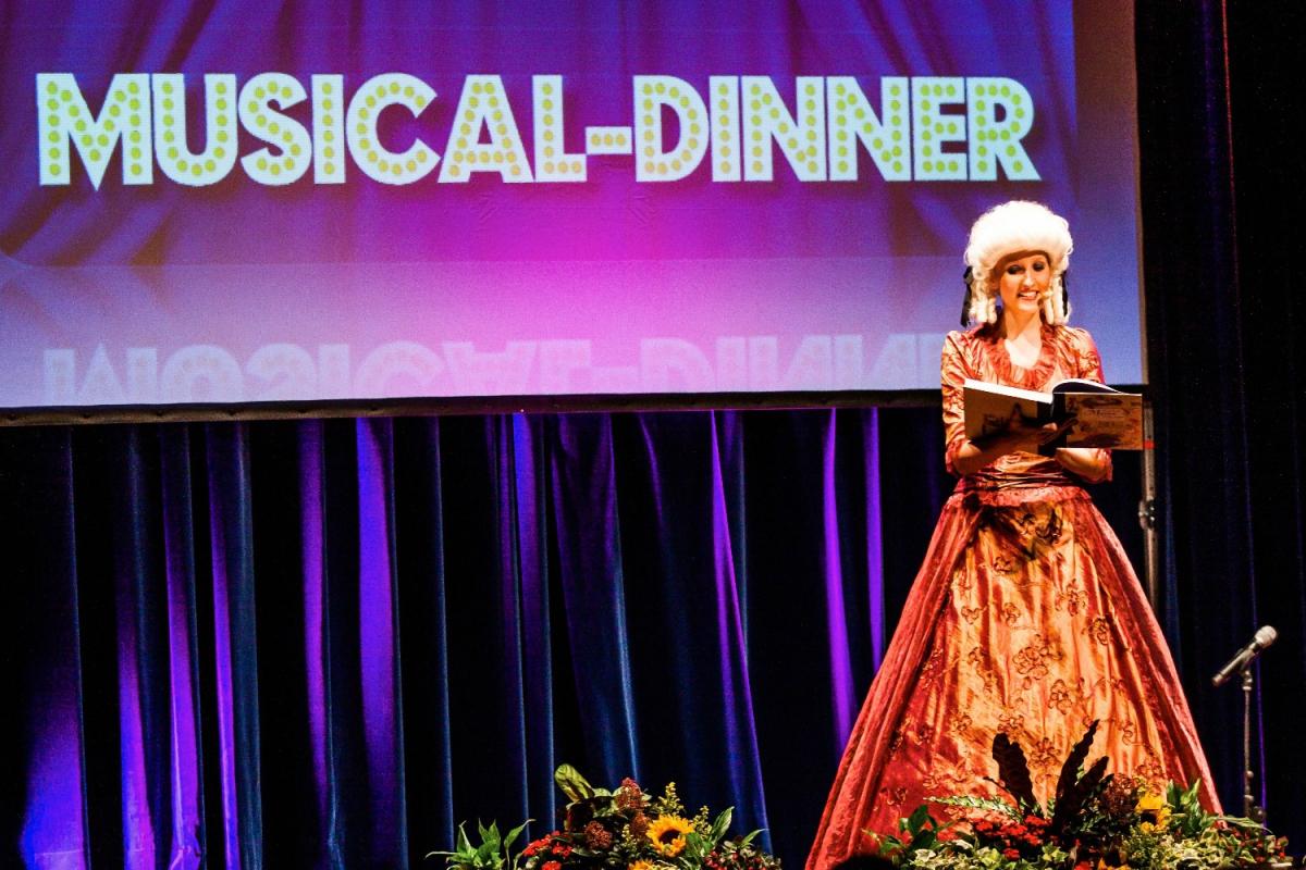 musical dinner show